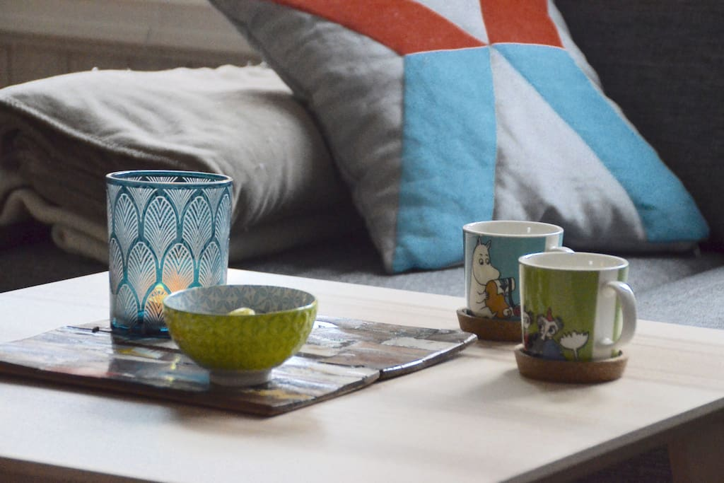 Explore the city or simply enjoy a coffee at home.