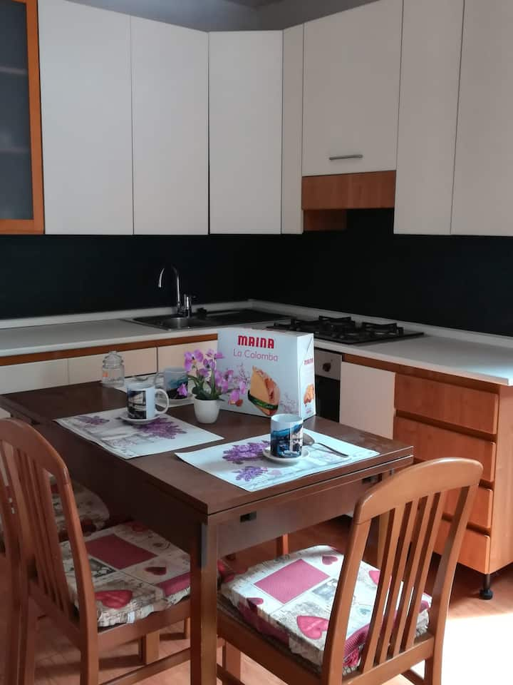 Appartamento autonomo con cucina e bagno autonomo