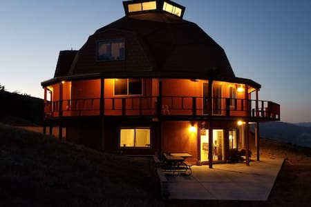 A Unique Mountain Retreat that is off the grid.
