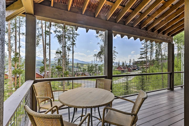Mtn Haven w/ Views & Private Hot Tub ~5 Mi to Ski!
