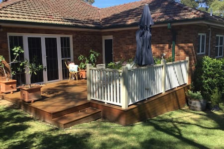 Private entrance to private bedroom and bathroom - Hunters Hill
