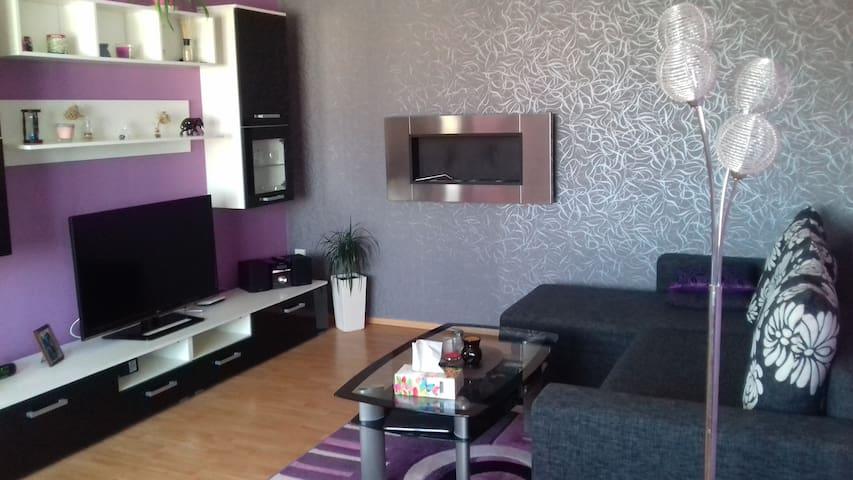 Luxusní byt v centru města-Wohnung in Stadtcentrum - Cheb - Apartment