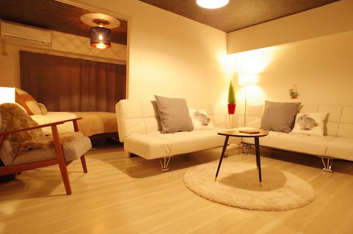 NEW at Osaka Jo,group travel,Nanba area - Chuo Ward, Osaka - Lägenhet