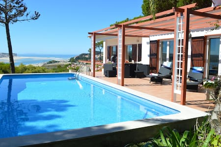 Family villa private pool stunning Atlantic views - Foz do Arelho - 獨棟