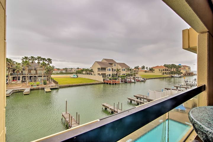 NEW-South Padre Island Condo w/Pool, Walk to Beach
