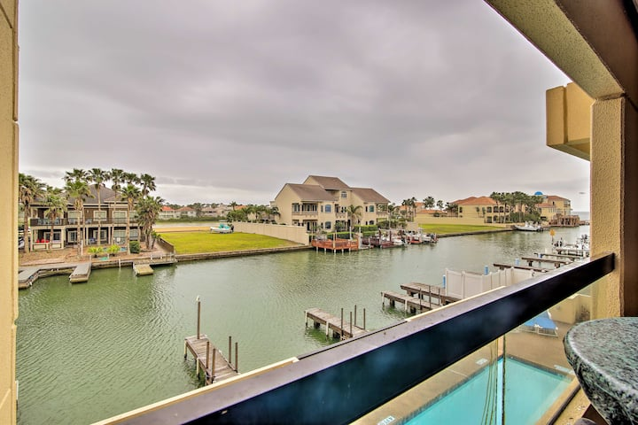 Couple's Island Condo w/ Pool, Walk to the Beach!