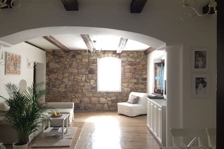 Double room in medieval building - Praag - Appartement