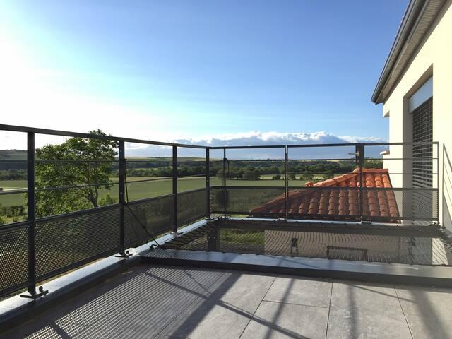 Terrasse & filet de détente