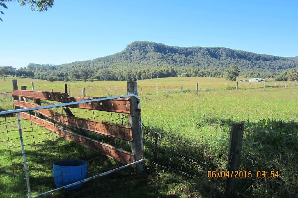 enjoy the views while having breahfast or sitting around the campfire planning your next bush trek