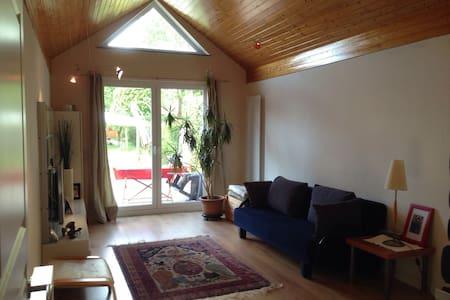 Ruhige grüne Lage - kleines Haus (Nähe A23/A7) - ฮัมบูร์ก - บ้าน