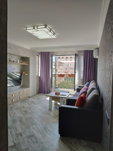 NEWLY RENOVATED, modern 2 bedroom apt, Tumanyan St