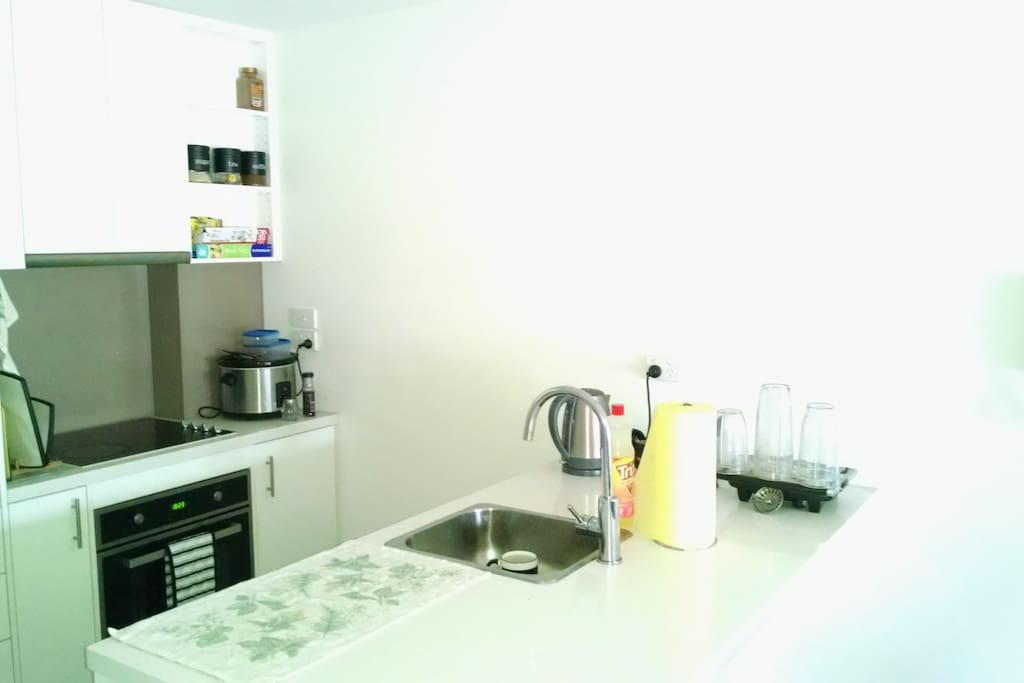 Modern Kitchen for your use. Just clean up after you use