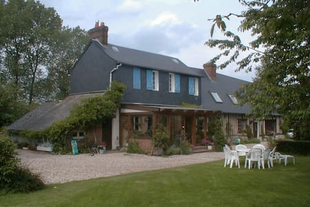 Chambre jaune - Saint-Jacques-sur-Darnétal - Bed & Breakfast