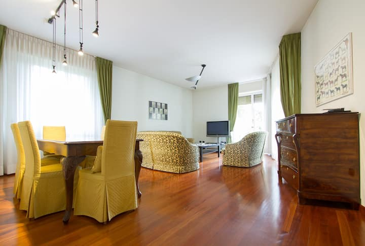 Two floors apartment in Bergamo city center