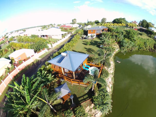 BUNGA-LODGE (bungalow 4* avec piscine privée)