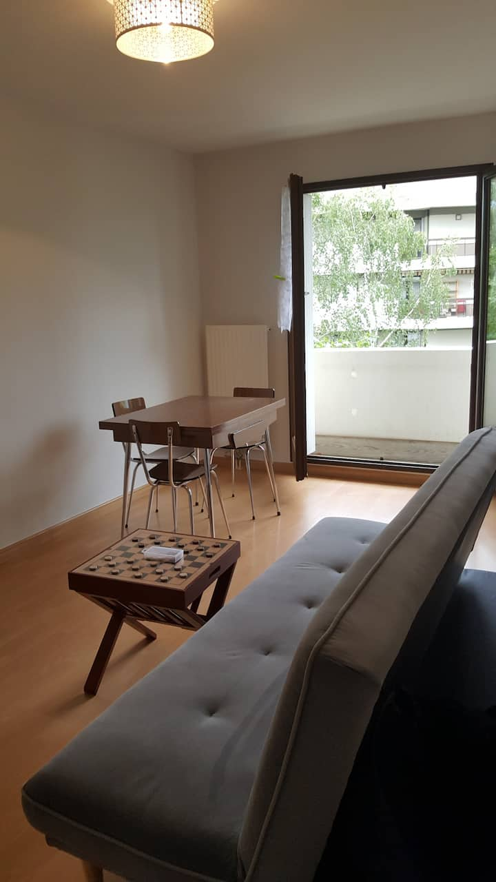 Bel Appartement 35m2 Chambery La Motte Servolex Apartments For
