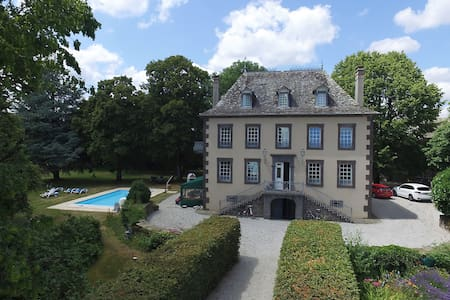 Manor House in South West France - Aveyron - Talo
