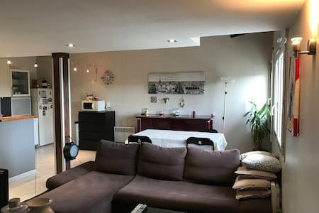 Craponne centre, calme et sécurisé 58m2 - Craponne - Apartamento