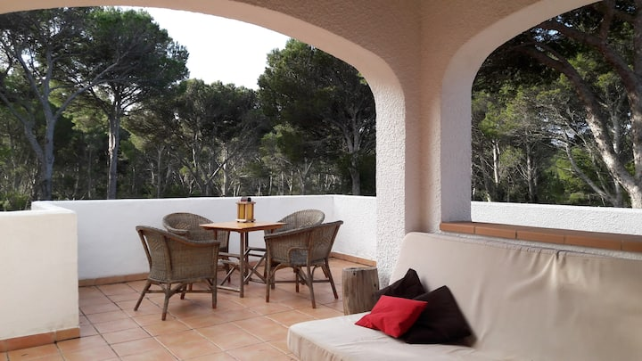 Casa Rockmorell / 4pers apart. pine view terrace