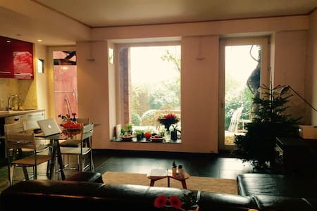 Beautiful studio with garden on Avenue Louise - Bruxelles - Apartment