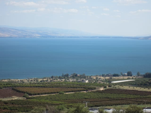 Sea of Galilee spectacular view