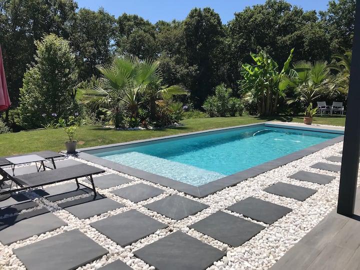 Villa avec piscine proche de Biarritz