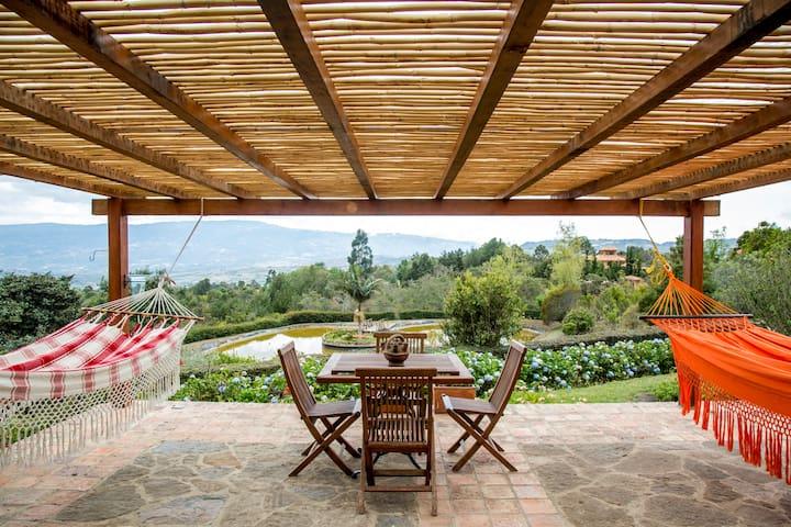 Ghivizzano-Great View, Guest House, BBQ House-Lake - Villa de Leyva - Maison