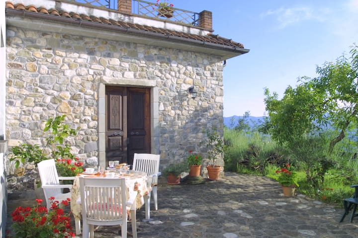 Hilltop village house in North Tuscany & 5Terre! - Olivola - House