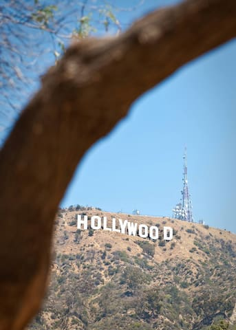 Hollywood craziness 45 min-1 hour away