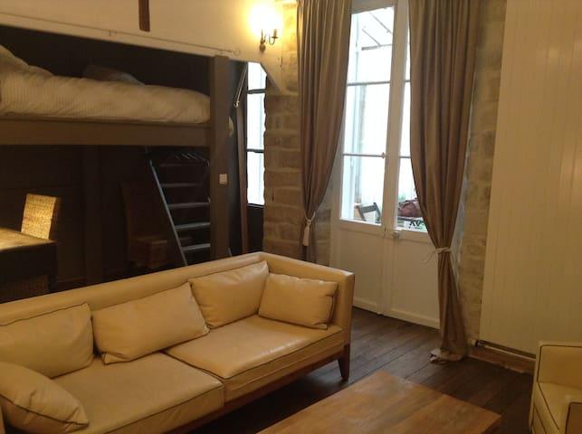 Appartement chaleureux en centre ville - Fontainebleau - Apartment