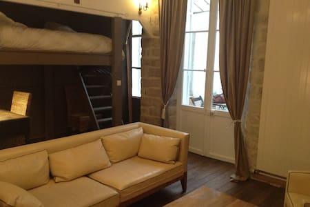 Appartement chaleureux en centre ville - Fontainebleau