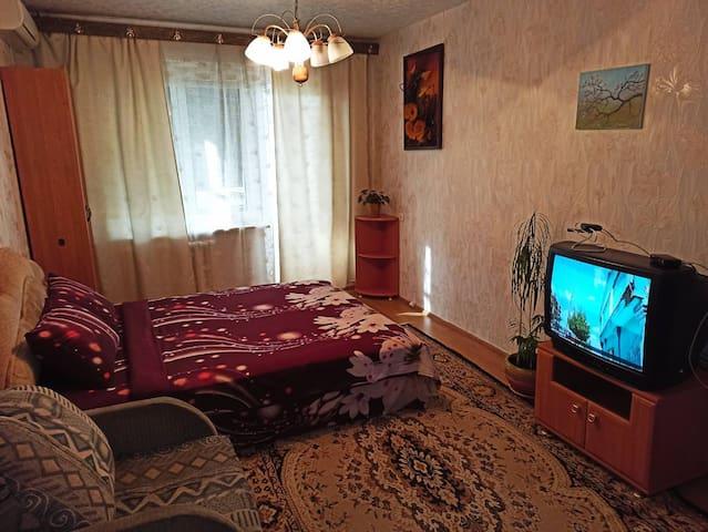Уютная квартира возле ТЦ Вавилон, Ж/м Солнечный