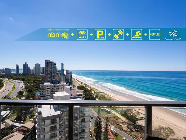 Boutique Beachside Apartment by Hostrelax GCRDW2P4
