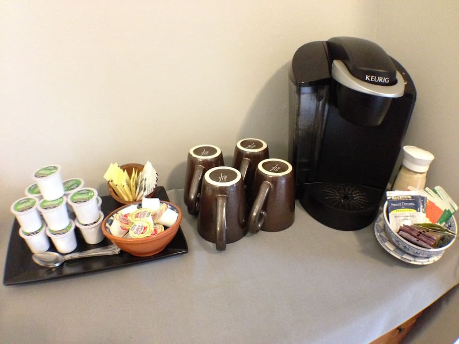 Your personal coffee/tea setup