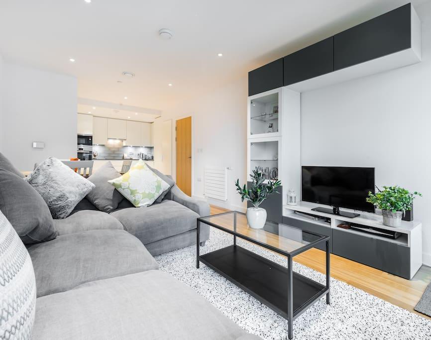 Light Lovely Lounge Area
