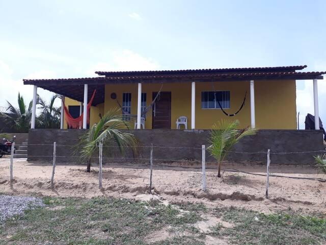 Casa para temporada na praia do Coqueiro PI
