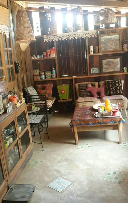 Sitting corner