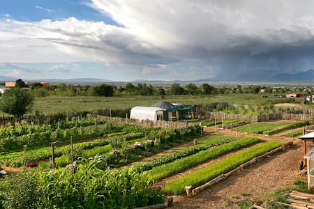 Stay on a real Organic Farm! - Ranchos de Taos
