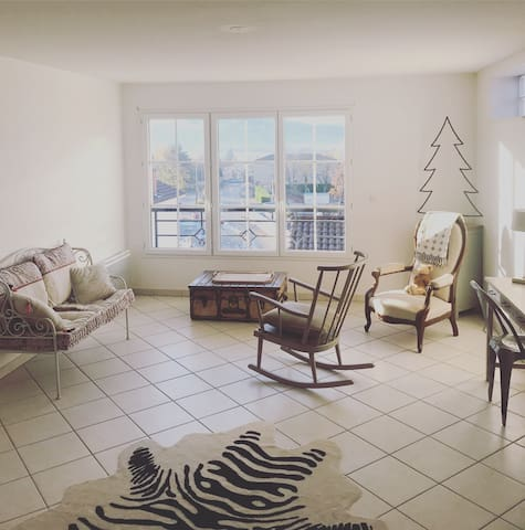 Appartement central calme, confortable & lumineux