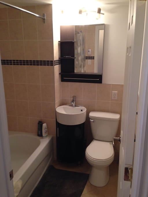 salle de bain moderne.