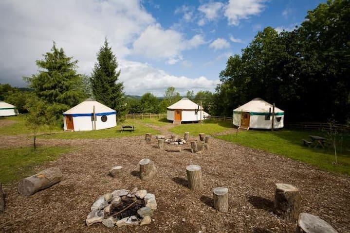 yurt village
