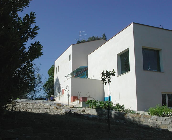 Panoramic Modern Home near Florence