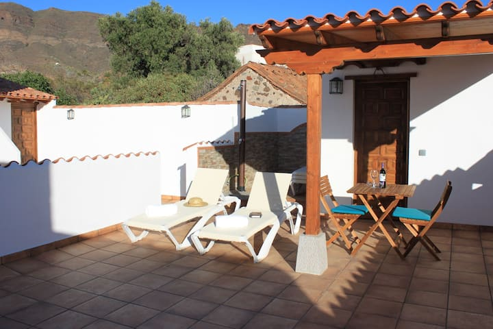 Holiday Cottage in  historic center of Santa Lucia