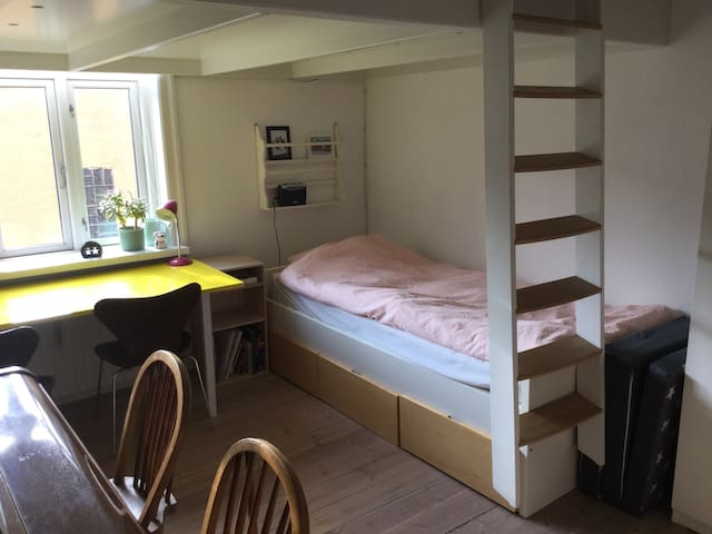Bright and cosy room - 15 mins from central Cph