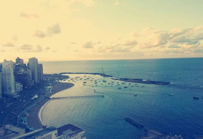 Beautiful sea view in Alexandria - Sidi Beshr Bahri - Appartamento