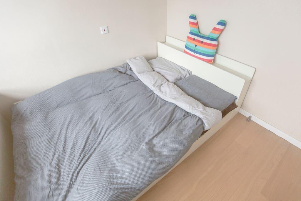 双人大床房!