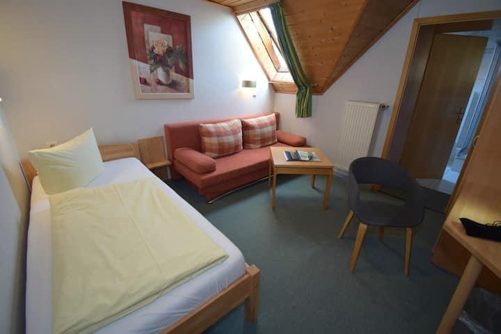 Gasthof Roseneck (Wallenfels), Gemütliches Einzelzimmer mit kostenfreiem WLAN