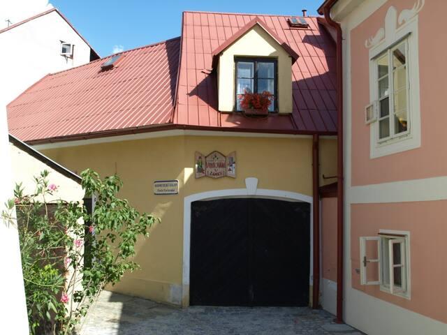 Dům s apartmánem