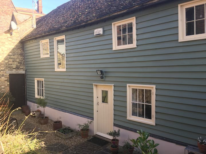 Converted barn in the heart of medieval Faversham.