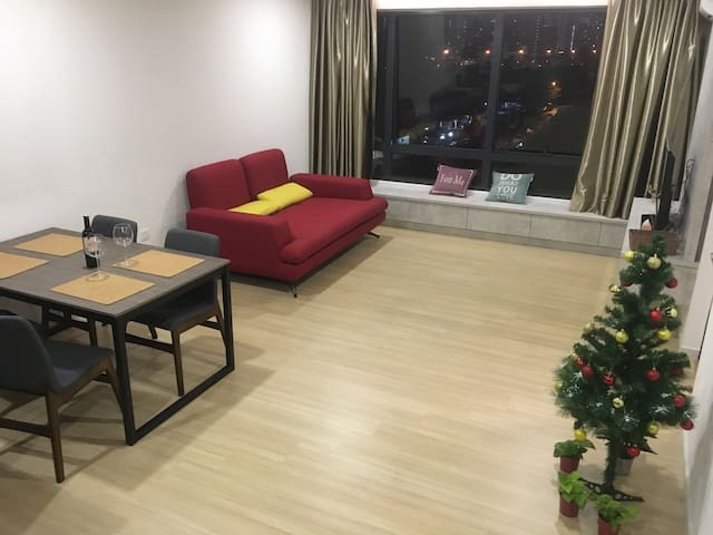 S&T CRIB modern apartment at Subang Jaya, Sunway
